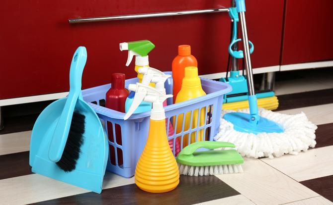 mẹo làm sạch nhà cửa