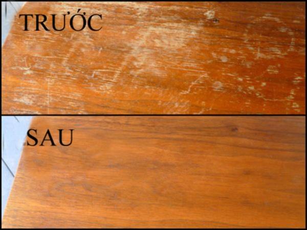vệ sinh đồ gỗ