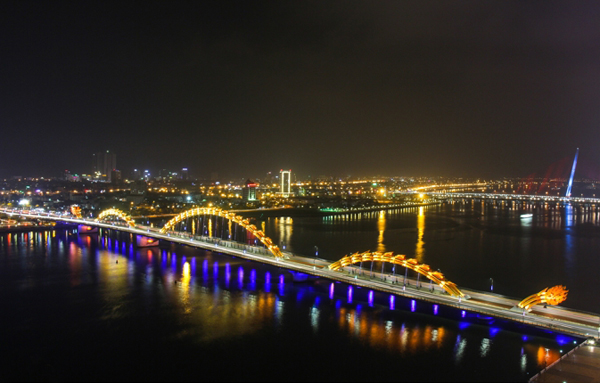 view cao từ khách sạn vanda đà nẵng