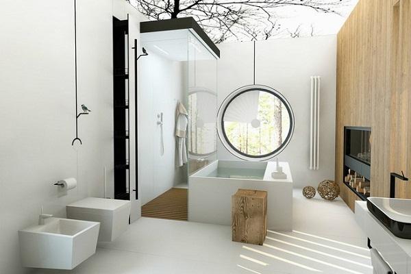 9 lưu ý thiết kế nội thất phòng tắm đẹp và hiện đại