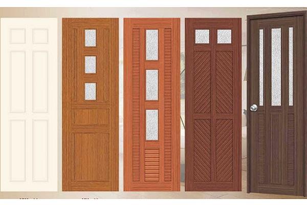 cửa nhựa giả gỗ lõi thép